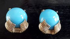Jomaz - Vintage clip earrings - New York 1950-1955