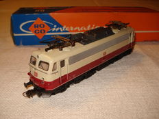 Roco H0 - 4138 - electric TEE E-express locomotive BR 112 of DB