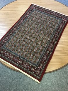 Wonderful densely knotted original Persian MOUD with natural colours - 100 x 151- in new condition - PERSIA