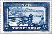 Postage Stamps - Monaco - View from the Palace Square
