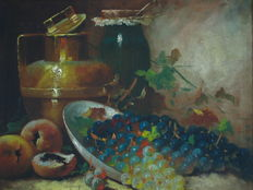 Unknown - still life with fruit