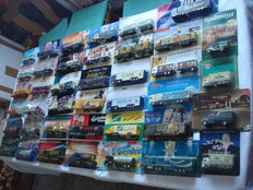 Collection - brewery trucks, in original packaging, some are Classic Cars and rare, 76 parts