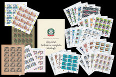 Republic of Italy – 1999-2010 – Collection of miniature sheets