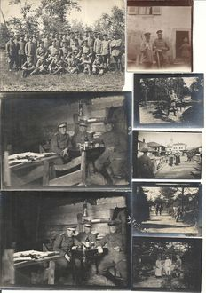 German empire; lot with 35 original photos German officials, soldiers first WW