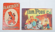 [Marten Toonder] - Two picture card albums Tom Puss & Oliver B. Bumble - 1952 / 1964