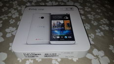 Smarthone HTC one  801n Silber in OVP used.