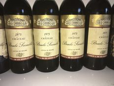 1975 Chateau Brule Secaille, Cotes des Bourg. – 12 bottles in total