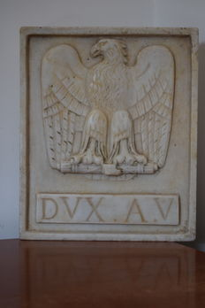 Eagle slab from the Fascist Ventennio