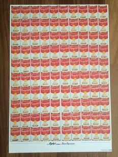 Andy Warhol - One hundred Cambell's Soup Cans (1962)