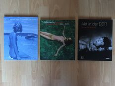 Photography; Lot with 3 publications on nude photography-2010/2015