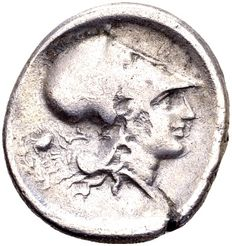 Ancient Greece - Silver Stater, struck in Akarnania, Anaktorion around 350-300 BC