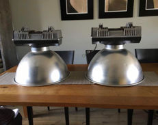 Mazda - French industrial factory lamp ( 2x )