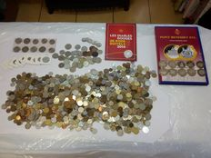 World – 7.6 kg of coins – including silver