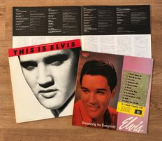 Elvis Presley Vinyl Records from Japan and other (9 LP's)
