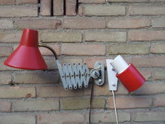 Hala Zeist – Accordion lamp and a wall lamp