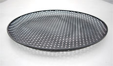 Mathieu Matégot - perforated metal circular dish