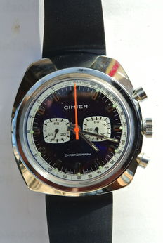 CIMIER Chronograph – Men's wristwatch – 1970s