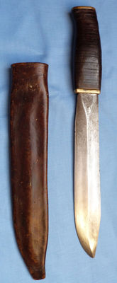 Large Original French WW1 Trench Knife