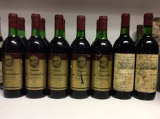 1976 & 1978 Bordeaux Kavel, 1978 Chateau de Gorrichon, 1976 Vignobles Andre Lurton Chateau Bonnet , Bordeaux, France , 12 bottles 0.75l
