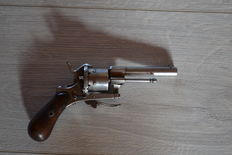 Nice pin fire revolver
