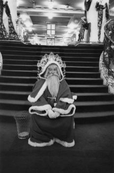 Frank Horvat (1928-) /ABC Press - Santa Claus - 1958