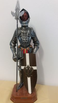 Toledo Medieval armour, Knight S. 16th century. Decoration.