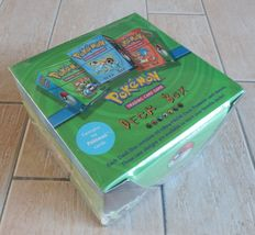 Pokémon - Base Set Display Box of 6 Deck Boxes Sealed New