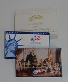 USA - United States Mint Proof set 2007 (14 munten totaal)