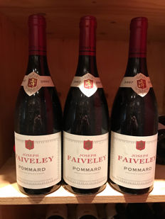 2007 Pommard Domaine Faiveley,  Cote de Beaune, Burgundy, France - 3 bottles  0,75l