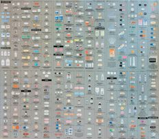 Damien Hirst — Pharmacy Wallpaper
