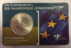"The Netherlands - 5 Euros 2004,  ""Europe coin"" in coin card."