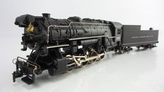 Rivarossi H0 - 1224 - Steam locomotive with pulled tender USA Indiana Harbor Belt