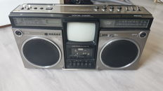 Vintage Radio / Cassetterecorder / TV - Philips ART60 - from 1982