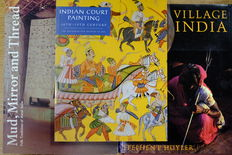 Lot of 3 books about India - 1985/1997