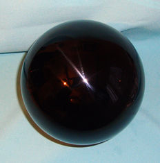Large Black Obsidian sphere - 145mm - 4330gm