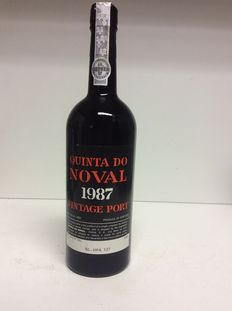 1987 Vintage Port Quinta do Noval - 1 fles 0,75l 20% Vol