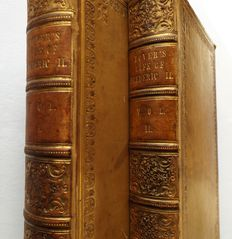 Lord Dover - The Life of Frederick The Second King of Prussia - 2 volumes - 1832