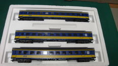 Märklin H0 - 42903 – carriage set NS with 3 express train carriages ICK