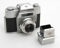 Agfa Colorflex with separate shaft viewfinder from 1958