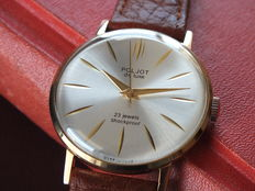 POLJOT De Luxe - Ultra Slim Men's Dress Wristwatch - Vintage Soviet (USSR) Era 1970s