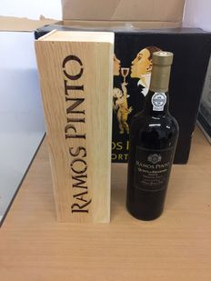 "2007 Single Quinta Vintage Port - Ramos Pinto ""Quinta de Ervamoira"" - 6 bottles in individual wooden case"