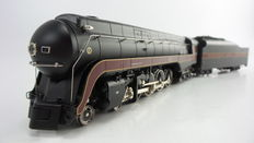 MTH Electric Trains H0 - 80-3146-1 - Steam Locomotive with a pulled tender class J of Norfolk & Western