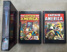 Captain America - The Classic Years - 2x hc with slipcase - 1st edition reissue - (1990)