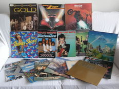 15 Rock albums (17 LP,s) and 1 x 12`` Rolling Stones, Dave Mason, Adam and the Ants, ZZ Top, 10 CC, Meat Loaf, Deep Purple, Status Quo, Creedence Clearwater Revival, Europe, Uriah Heep, Asia, Prince and the Revolution, Reo, Cat Stevens, Marillion