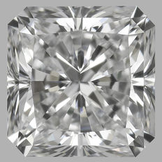 0.50 ct GIA Square Radiant Cut EIF WITH LASER INSCRIPTION -original image -Amazing Stone