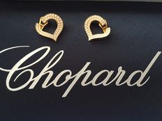 Chopard - clip-on earrings with diamonds