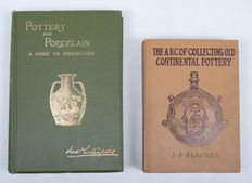 Lot with 2 books about porcelain and earthenware - 1905 / 1913
