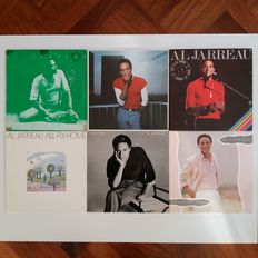 AL JARREAU - 6 Albums with 7 Records who are in Super condition!