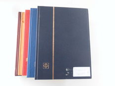 Germany, lot of five stamp albums