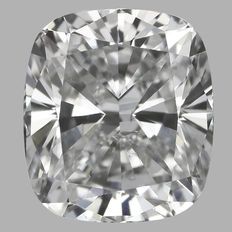 Diamante brillante modificato a cuscino da 0,67 ct, E SI1 - Certificato GIA - Seriale# MO18